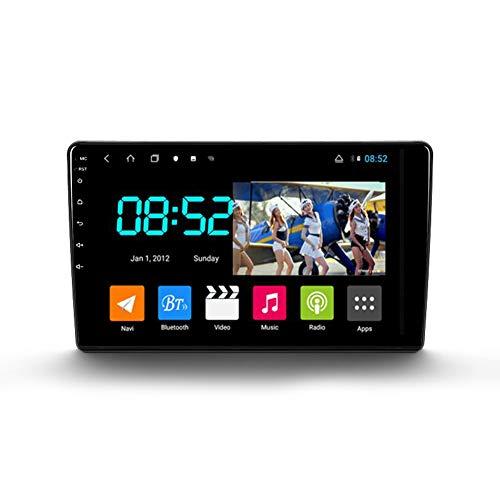 Foof Autoradio Coche Bluetooth 2 DIN Android Radio De Coche 9'' Pantalla Táctil WiFi Plug and Play Completo RCA SWC Soporte Carautoplay/GPS/Dab+/OBDII para Citroen Berlingo 2,Octa Core,4G WiFi 4G+64G