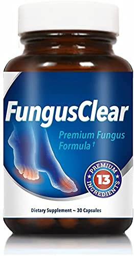 Fungus Clear Probiotic Capsules - Eases Toe Fungus Naturally, Fights Candida, Strengthens Immune System, Unflavored Premium Probiotic Pills for Fungi Nail Repair - 30 Tablets (Pack of 1)