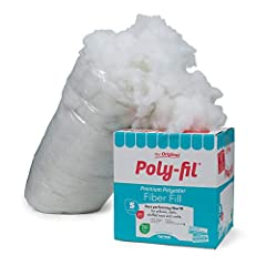 100Percent Premium polyester fiber Superior resiliency and smooth consistency Made from 100Percent recycled polyester fiber Washable and non-allergenic Proudly Made in the USA, unconditionally guaranteed Each Box weigh 5-Pound.
