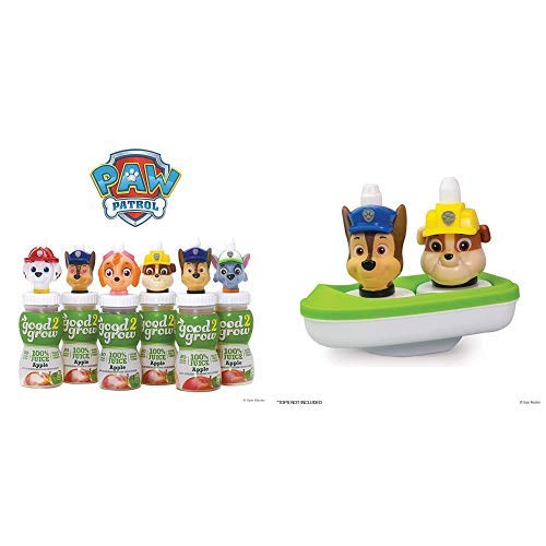 Review Of Paw Patrol 100% Apple 6 Bottle Party Pack, 6oz PLUS good2grow Spouts Toy Boat