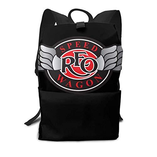 REO Speedn Comfortable Schoolbag Multifunction Bapack Travel Bag LaptopBapack for Unisex White