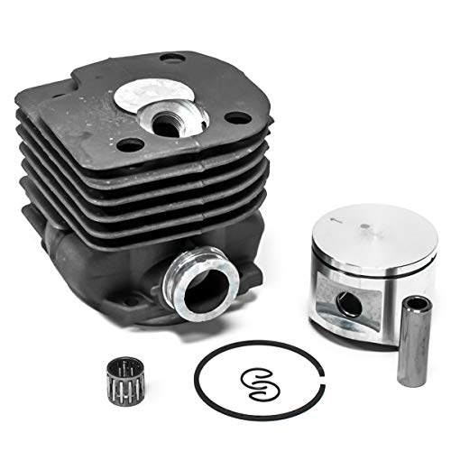 52MM Big Bore Cylinder Piston Kit Compatible with Husqvarna 362 365 372 372XP Chainsaws