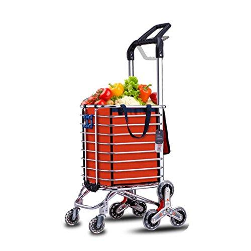 Shopping Trolleys Senior winkelwagen huis boodschappenwinkelwagen verstelbare handgreep vouwfiets outdoor draagbare winkelwagen oude man klimwagen multifunctionele arbeidsbesparende winkelen c