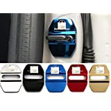 4枚セット 5色選択可 メルセデス Mercedes Benz ストライカー カバー ドアロック カバー メッキ 高品質 鏡面ステンレススト ベンツ 全車種対応 ベンツ 社外品 (ゴールド)