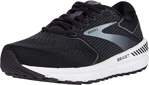 Brooks Men's Beast 20, Black/Grey, 11 Medium