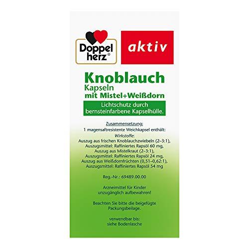 Doppelherz aktiv Knoblauch, 480 Kapseln - 2