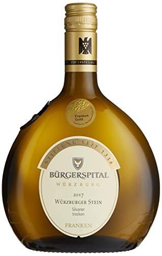 Weingut Bürgerspital zum hl. Geist Würzburger Stein - VDP. Erste Lage - Qualitätswein Silvaner 2019 Trocken (1 x 0.75 l)
