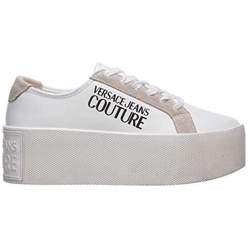 VERSACE JEANS COUTURE Vrouwen Wedge Sneakers Bianco