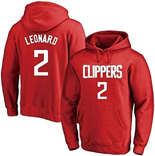 HCMNMW NBA Sudadera de baloncesto para hombre, sudadera con capucha de Los Angeles Clippers2 Kawhi Leonard, sudadera con capucha cálida de manga larga (tamaño: grande) – Unisex (tamaño: pequeño)