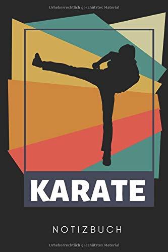 KARATE NOTIZBUCH: A5 Notizbuch KARIERT Karate Buch | Kampfsport für Kinder | Kampfkunst | Shotokan Karate | Karateka | Buch für Anfänger | Jugendliche | Japan