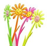 Ensemble de 12 Fleurs Smiley Visage Fragrance Signature Pen (Couleur aléatoi)