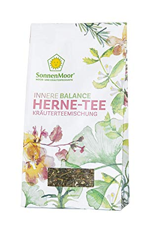 SonnenMoor - Innere Balance - HERNE-TEE - lose, natürliche Kräuterteemischung 50 Gramm - für ein wohltuendes Gefühl