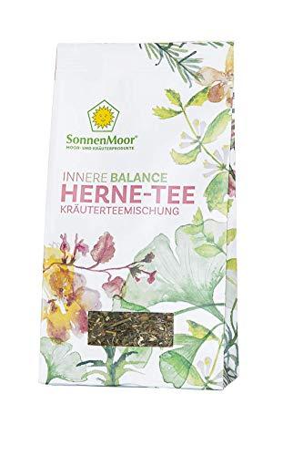 SonnenMoor - Innere Balance - HERNE-TEE - lose, natürliche Kräuterteemischung 50 Gramm - entfaltet ein wohltuendes Gefühl für Herz und Nerven