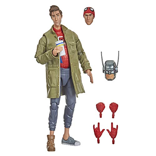 Spider-Man Hasbro Marvel Legends Series Into The Spider-Verse Peter B. Parker 6-inch Collectible Action Figure Toy for Kids Age 4 and Up