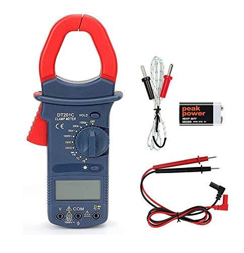絶縁抵抗計 POWERAXIS クランプメーター デジタルテスター オートレンジ テスター 電気テスター 電圧 電流 周波数 抵抗 導通 温度 クランプメーター 測定 小型 軽量 多機能 収納袋付き 1年保証