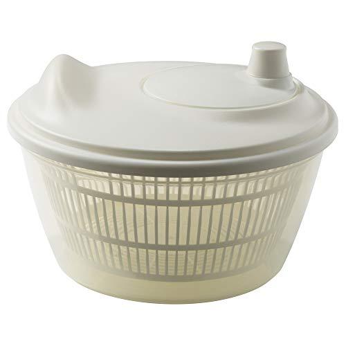 IKEA 601.486.78 Tokig - Escurridor para ensalada, color blanco