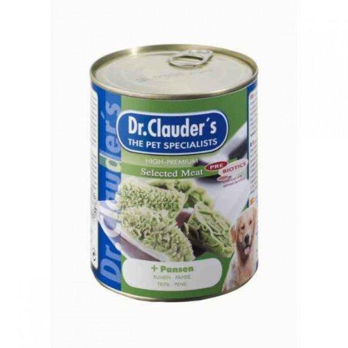 Dr. Clauder Dr. Clauders Hunde Nassfutter Dose Selected Meat Prebiotics mit Pansen 400 g