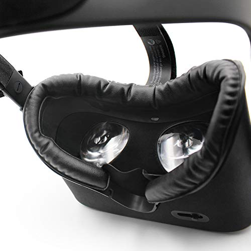 AMVR VR Facial Interface & Foam Cover Pad Replacement Comfort Set for Oculus Rift ( Only Work for Rift CV1)