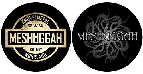 Meshuggah 'Crest/Spine' Turntable Slipmat Set
