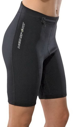 NeoSport Wetsuits XSPAN Shorts, Black, X-Large - Diving, Snorkeling & Wakeboarding by NeoSport