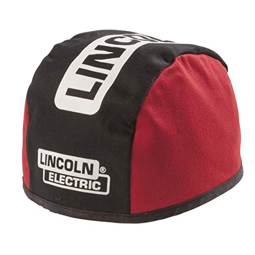Product Image of the Lincoln Electric Welding Beanie | Flame Resistant (FR) | Black & Red | Large |K2994-L