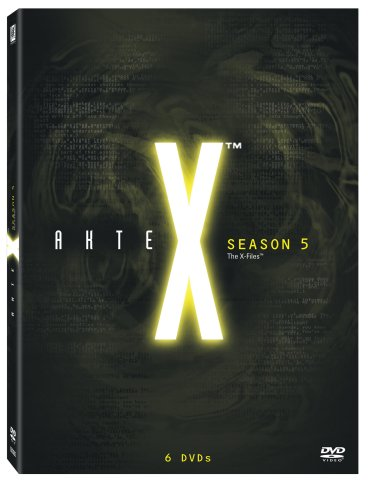 Akte X - Season 5 Collection [6 DVDs]