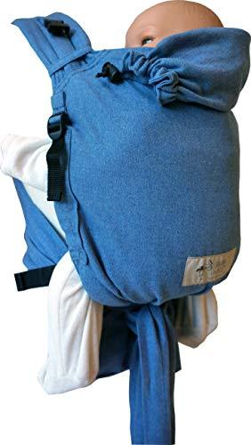 Storchenwiege BabyCarrier Soft Blue - porte-bébé