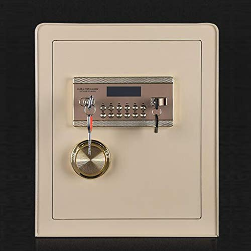Weerwoord sleutelkluis verdikte anti-prying, 45 cm veilig voor kleinhuisgebruik, op kantoor vol staal anti-diefstal en vuurbestendig Safe put-in de muur, voor het opslaan van sieraden geld