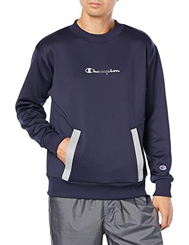 [チャンピオン] スウェット ストレッチ スクリプトロゴ スウェットシャツ メンズ スポーツ C3-TS010 ネイビー L