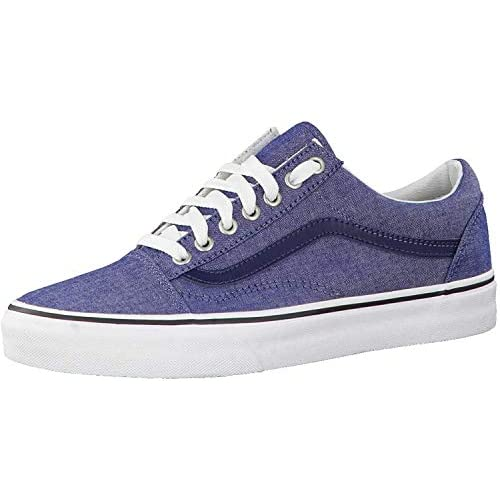 Vans Old Skool - (c L) Chambray/blue - 4.5