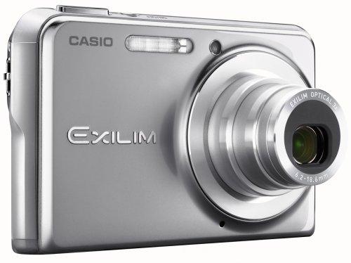 Casio Exilim EX-Z700 Cámara Digital (7 megapíxeles) con Plata EWC-70 Carcasa subacuática