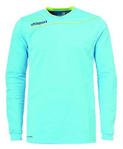 uhlsport, Maglia da Portiere Stream 3.0, Unisex, 100570201, Eisblau/Fluo Gelb, L