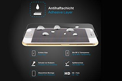 mtb more energy® Schutzglas für Huawei Y5 und Y560 - Tempered Glass Protector Schutzfolie Glasfolie - 3