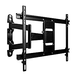 powerful Full-motion TV wall mount, VESA 600 x 400, suitable for installations up to 90 inches, high performance LCD flat screen with LED backlight.