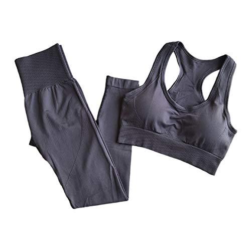 Gimnasio profesional corriendo yoga ropa interior entrenamiento deportivo baile alto elástico secado rápido medias sin costuras traje