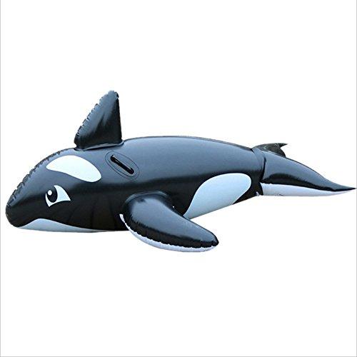 Equipement intérieur et extérieur de remise en forme La piscine gonflable de PVC de baleine flotte la forme de dauphin de siège pour le jouet de flotteur de garçons de filles d'enfants d'enfants Garde