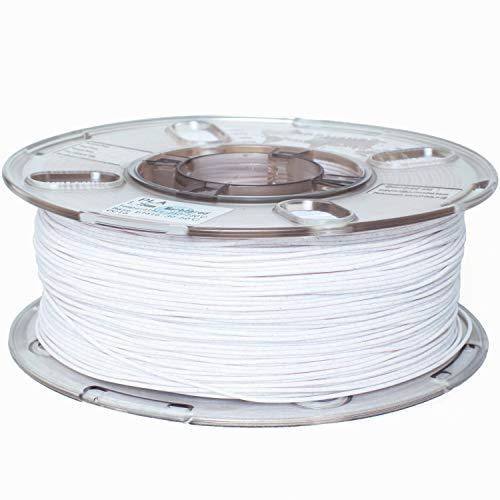 PRILINE PLA 1.75 3D Printer Filament, Dimensional Accuracy +/-0.03 mm, 1kg Spool,Red Marble