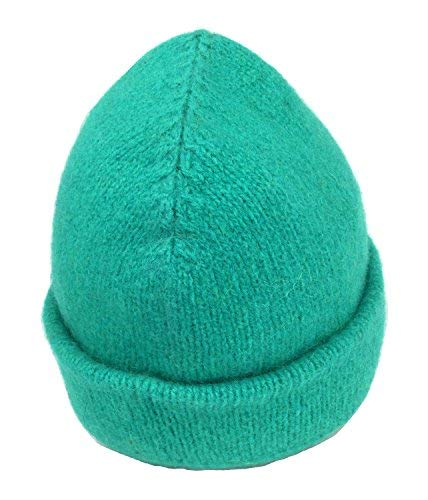 Dachstein Woolwear 100% Austrian Boiled Wool Thick Alpine Cap in Colors (One Size, Cyan)