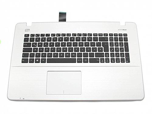 ASUS R752LX Original Tastatur inkl. Topcase DE (deutsch) schwarz/Silber