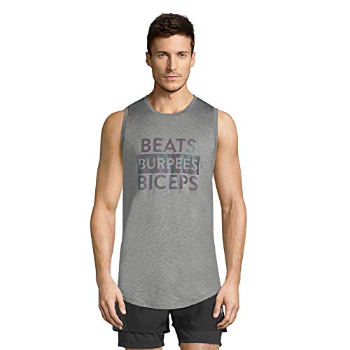 STRONG by Zumba Camiseta deportiva sin mangas para hombre, diseño gráfico