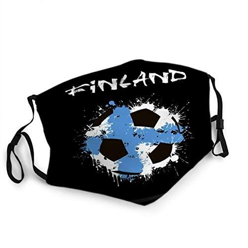 TABUEL Anti Staub Gesichtsschutz Mund Ma - SKS Zusammenfassung Fußball Finnland Flagge
