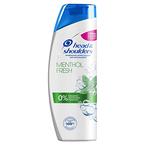 Head and Shoulders Menthol Fresh Anti-Schuppen Shampoo 500 ml – 3 Stück
