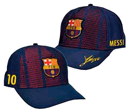 Kappe FC. Barcelona Player Messi - Produkt Lizenziert - Einstellbare erwachseneGröße
