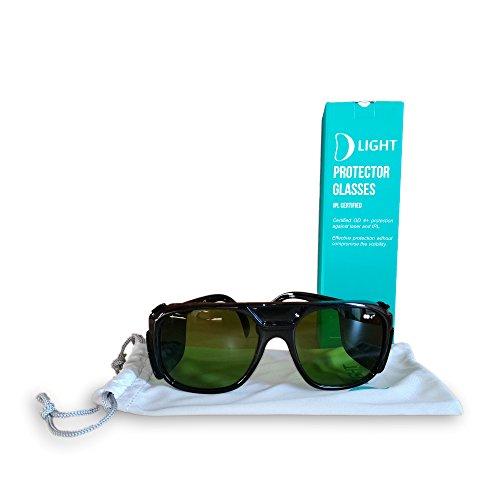 D Light zertifizierte Schutzbrille für Intense Pulsed Light (IPL) und Laser