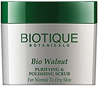 Biotique Walnut Purifying and Polishing Scrub for Normal to Dry Skin by Biotique