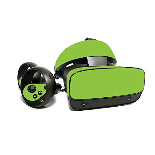 MightySkins Skin for Oculus Rift S - Solid Lime Green | Protective, Durable, and Unique Vinyl Decal Wrap Cover | Easy to Apply, Remove, and Change Styles | Made in The USA
