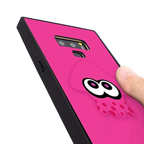 Squid Splatoon Pink Phone Case Fit for Samsung Galaxy Note 9 (6.4 Version)