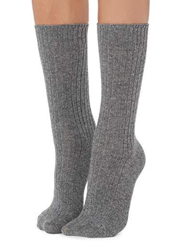 Calzedonia Damen Kurze Socken in Rippe mit Wolle & Kaschmir