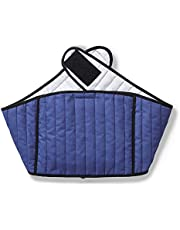 Hotties Soothing Backwrap Microwaveable Heat Wrap For The Relief Of Lower Back Pain - Blue