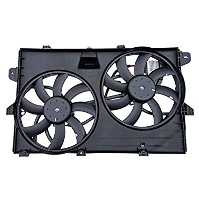 SONTIAN Engine Condenser Cooling Fan Assembly for Edge 07-14 Lincoln MKX 07-15 621-392